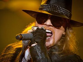 Axl Rose declines induction with Guns N' Roses to Rock Hall Of Fame