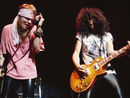 "Slash thinks Axl Rose's greatest lead singer accolade is ""pretty f*cking cool"""