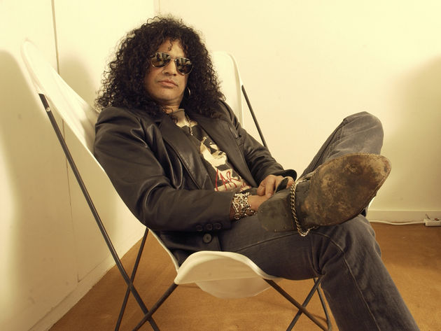 Slash - he's not taking a rest