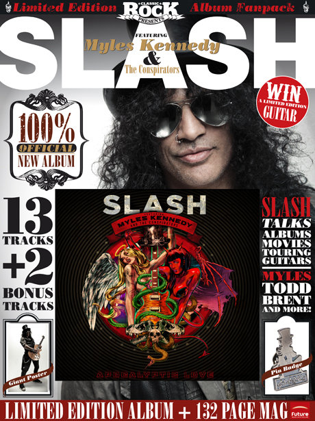 Classic rock presents: slash apocalyptic love fan pack