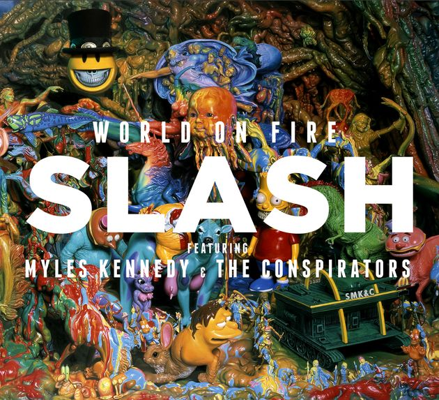 Slash talks new album, World On Fire