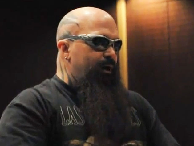 For Kerry King, the future's so bright, he's gotta wear shades