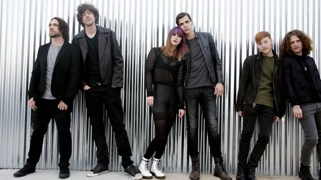 Sleeper Agent, 2013: (from left) Justin Wilson, Josh Martin, Alex Kandel, Tony Smith, Lee Williams and Scott Gardner