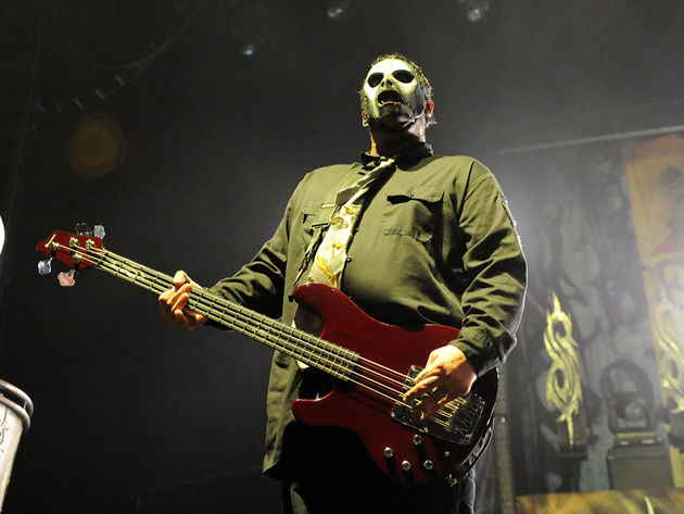 Original Slipknot guitarist Donnie Steele will replace the late Paul Gray (pictured) on bass this summer