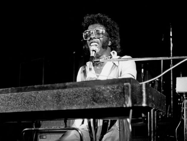 Sly Stone, victorious at Woodstock, 1969