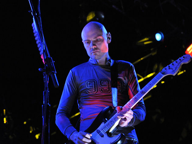 Billy Corgan has debuted a new song
