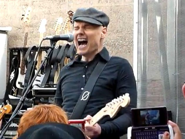 Billy Corgan and co rock the lucky few on Record Store Day
