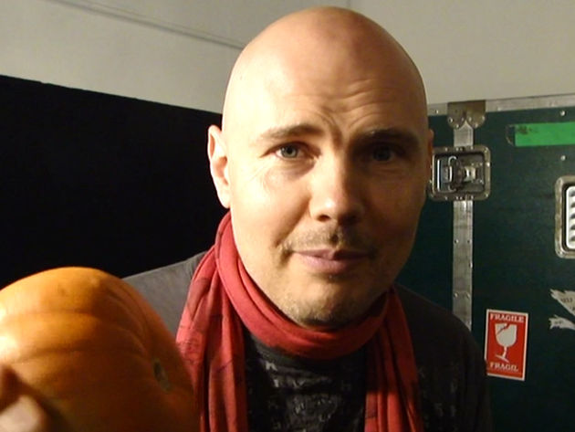 Billy Corgan wishes you a special kind of Smashing Pumpkins Halloween
