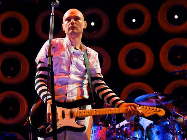 Billy Corgan IS The Smashing Pumpkins. And don't you forget it!