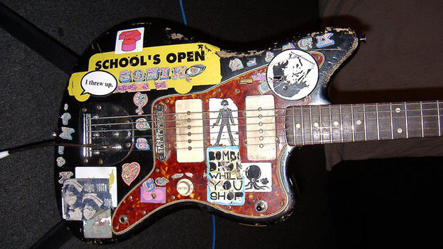 Have you seen this guitar? Thurston Moore's Jazzmaster serial number 41927