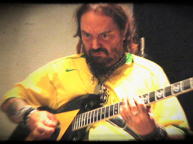 Max Cavalera in the studio