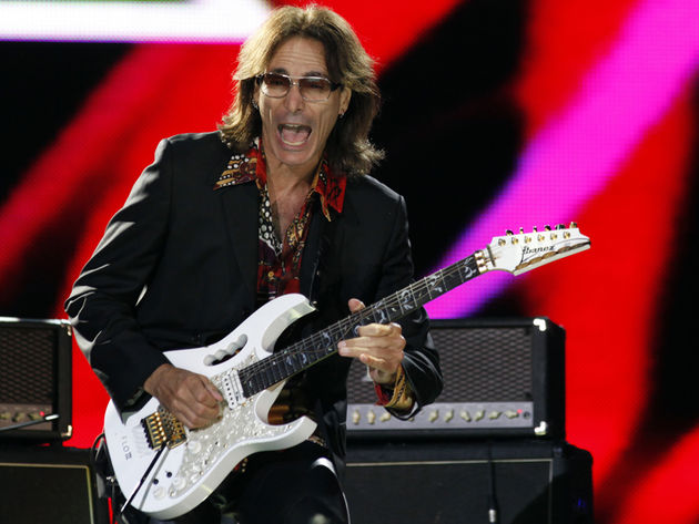 Steve Vai excited? Wait till you see him jam on some Hendrix later this year!
