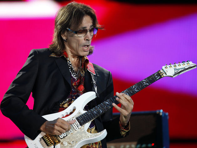 With the Hank Garland biopic Crazy under his belt, guitar god Steve Vai is now a movie mogul