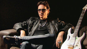 VIDEO: Steve Vai on touring with David Lee Roth