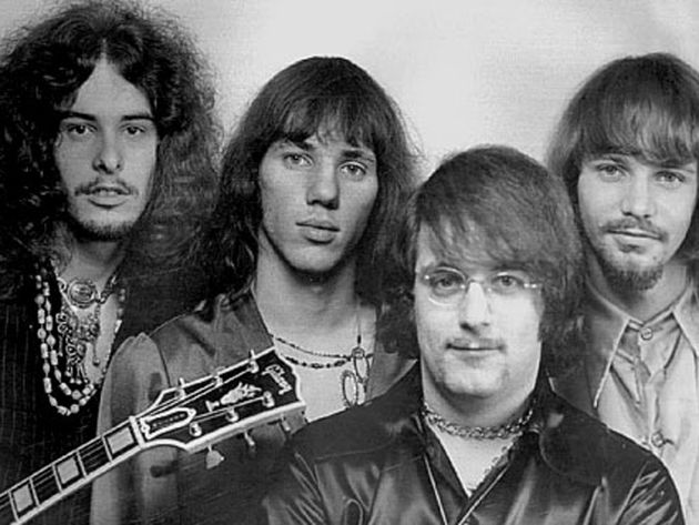 The Amboy Dukes with Ted Nugent (left) were very 'reflective'