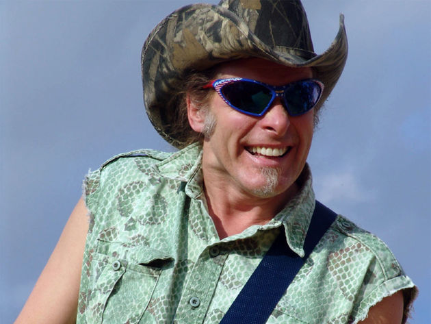 Nugent wants you high on life, and he'll take a crossbow to you if you don't like it