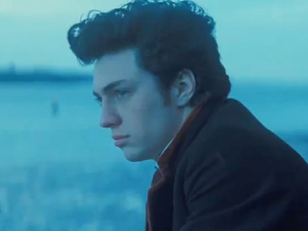 Aaron Johnson portrays John Lennon in Nowhere Boy