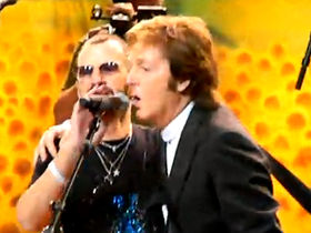 Paul McCartney joins Ringo Starr for birthday bash