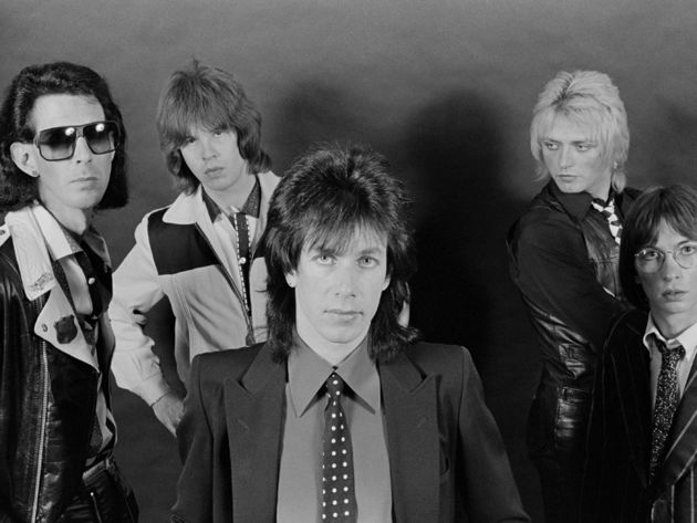 The Cars' classic lineup, 1978