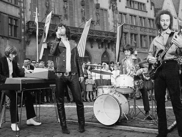 The Doors play Frankfurt, Germany in 1968 - 44 years before The Year Of The Doors