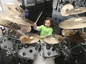 4-year-old kid drummer to play Whisky A Go-Go