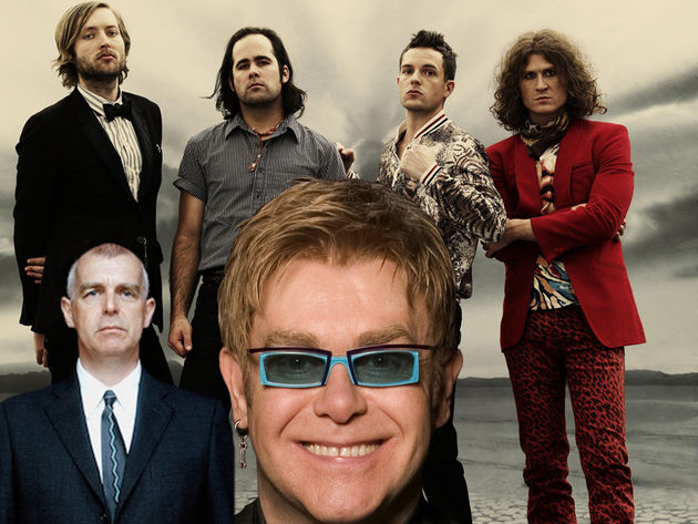 Elton John, some Killers and a Pet Shop Boy walk into a bar...
