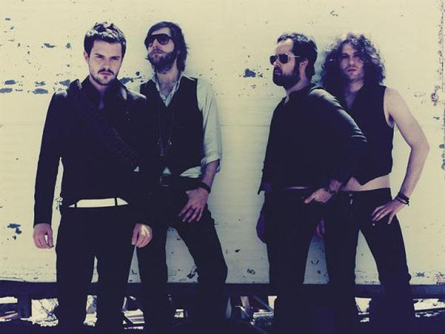 The Killers: discussing their favourite plug-ins, no doubt.
