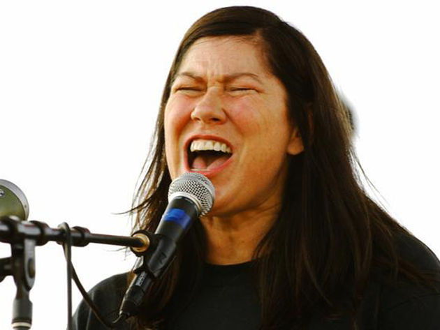 Kim Deal doesn't feel like a rock icon, but she is