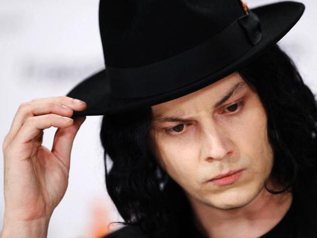 Jack White only looks serious. He's really a jokester at heart