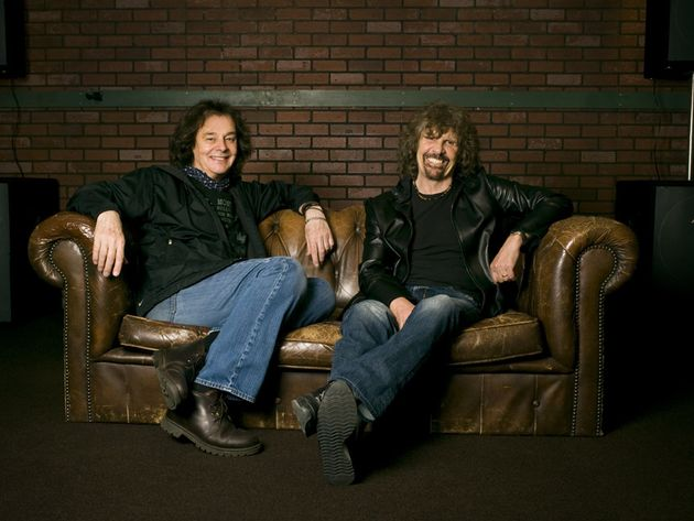 Colin Blunstone (l) and Rod Argent (r)