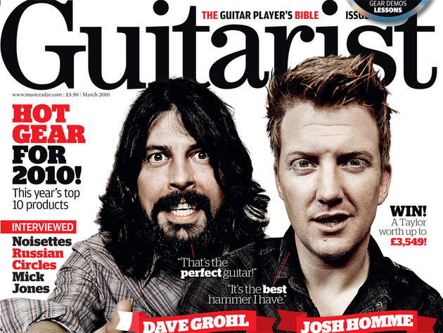 Guitarist's March 2010 issue, on sale now