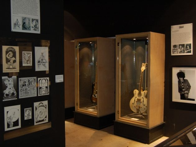 A shot of some of the guitars on show at Still In Love With You