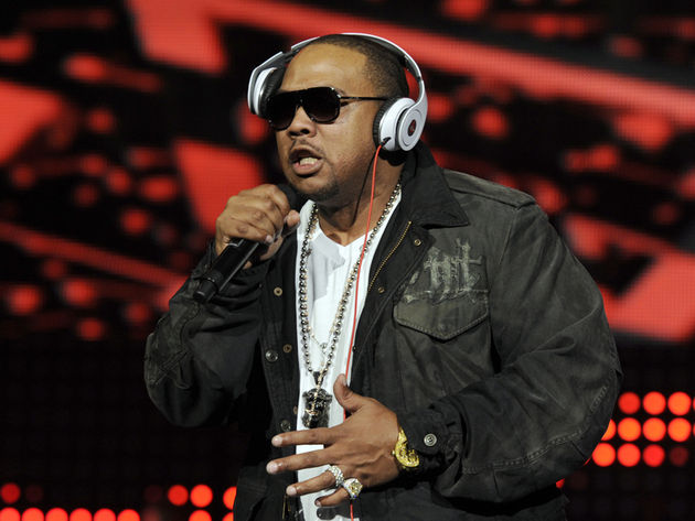 Timbaland: likes to travel in style.