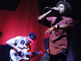 Rage Against The Machine perform Killing In The Name uncensored