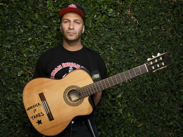 Tom Morello has rocked a million faces...and sometimes three
