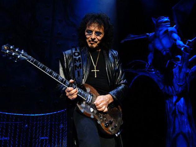 Iommi's hand problems aren't his first