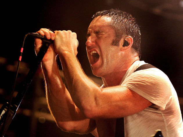 Trent Reznor: open to the idea of a Numan collaboration.