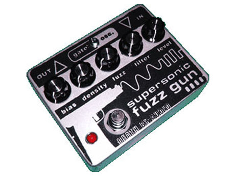 Edge used the supersonic fuzz gun pedal on 'horizon'