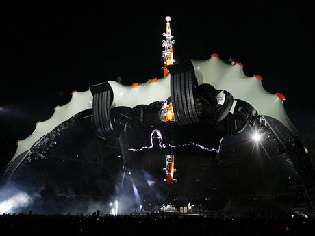 U2 360 tour in barcelona
