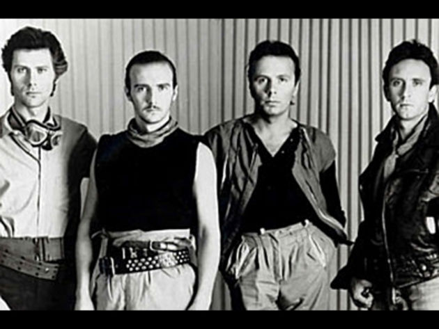 Ultravox with Midge Ure (second from left)