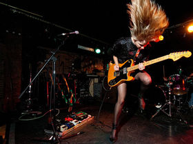 Ume's Lauren Larson talks female guitarists, power trios and new album, Monuments