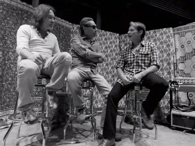 Getting to know you: Eddie and Alex Van Halen talk to journalist David Lee Roth