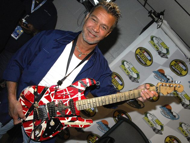 For Eddie Van Halen, guitar playing won't be a pain in the hand any longer