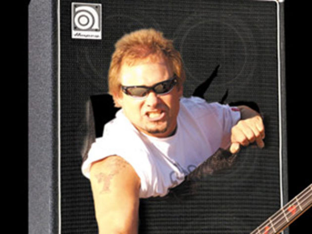 Michael Anthony also has his own line of hot sauces called Mad Anthony. Fact