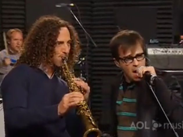 The strangest of bedfellows: Kenny G and Rivers Cuomo