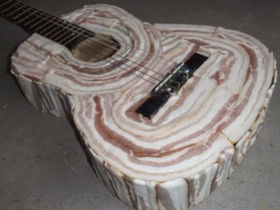 VIDEO: make your own bacon guitar!
