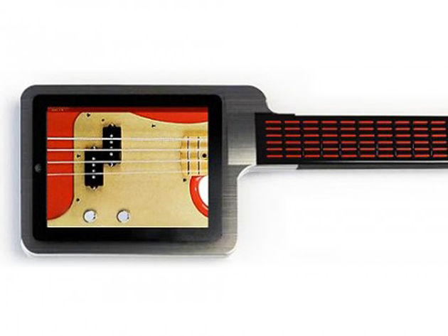 Play guitar, surf the web, play Angry Birds all at the same time!