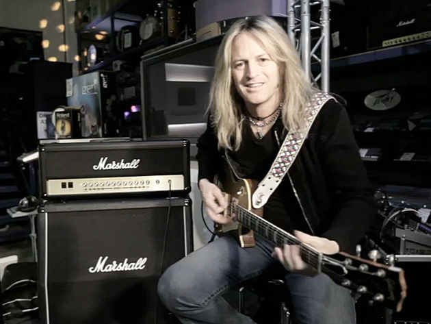 Doug Aldrich at Nevada Music in Portsmouth