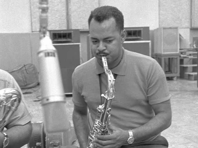Saxophonist Plas Johnson played on hundreds of records in the 1960s