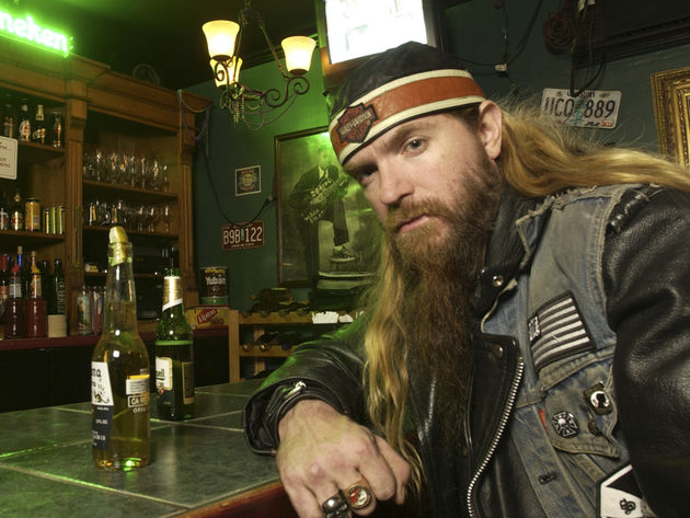 Now on blood thinners, Zakk's days at the pub are over